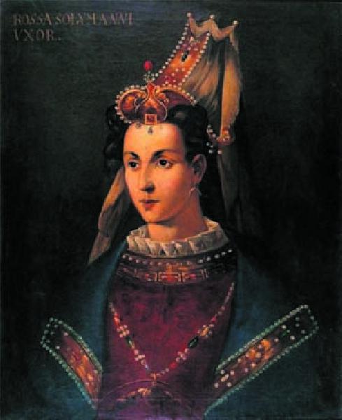 Szesnastowieczny portret Roskolany, nazywanej Uśmiechniętą